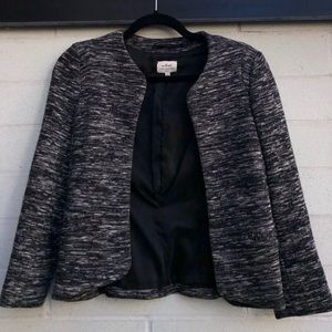 Wilfred Salt and Pepper Blazer - size 4